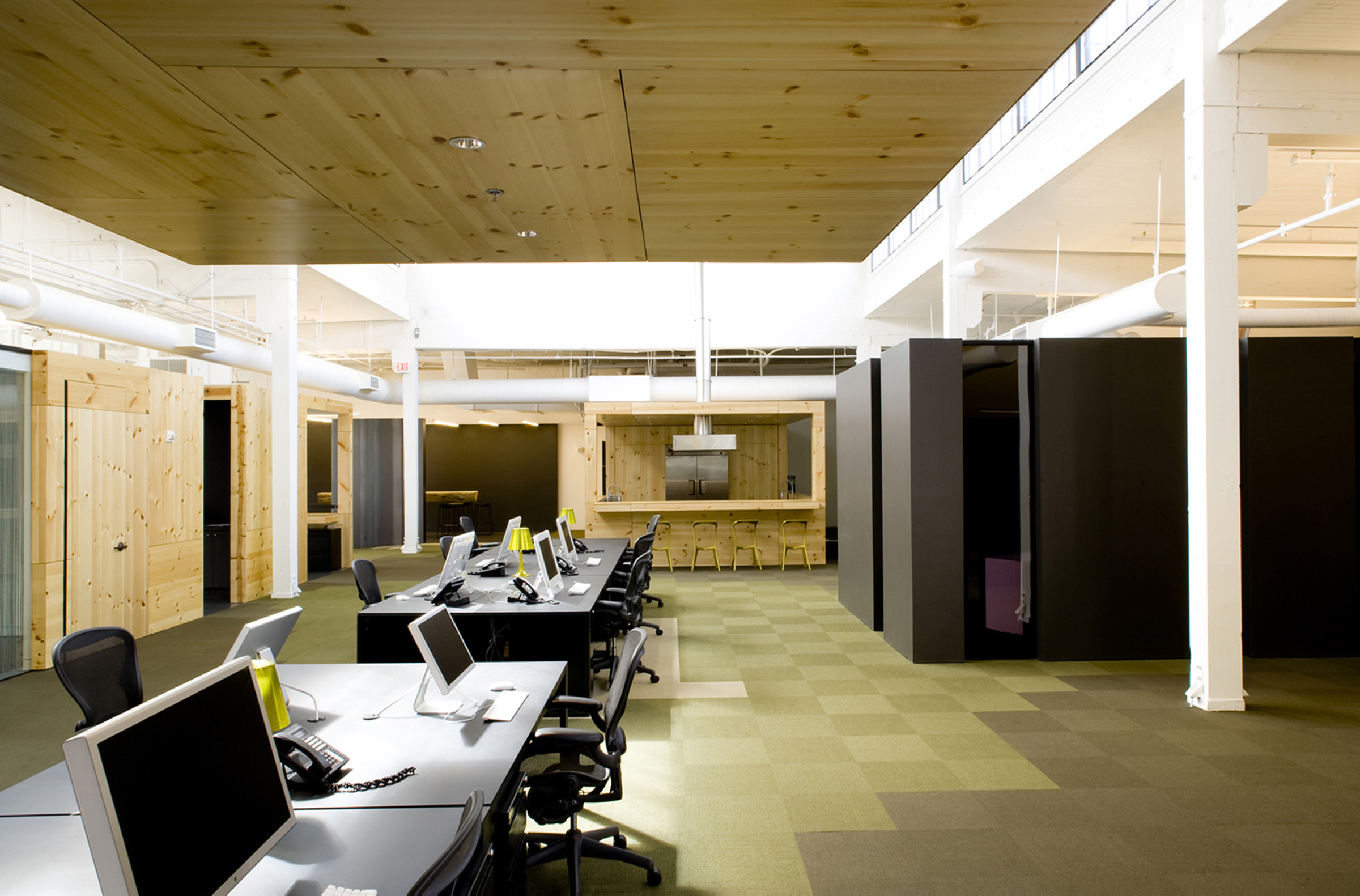 North Office Interior By Skylab Architect